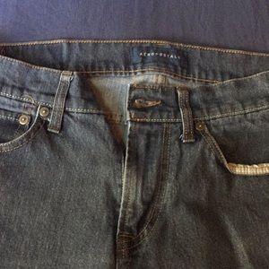 Aeropostal dark navy jeans